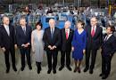 Schweizer Regierung: Ein Selfie bei Rotationsdrucker Stämpfli