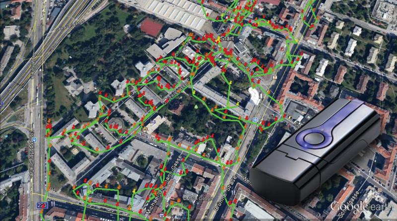 X Werbemittelverteilung mit GPS