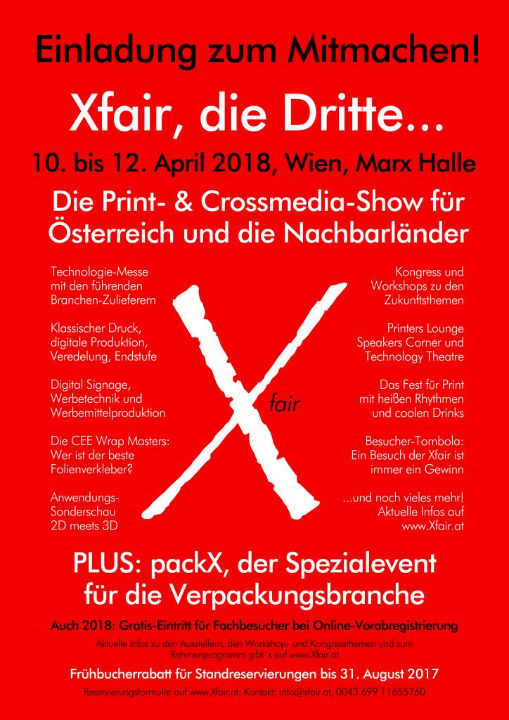 Xfair 2018 Inserat Online Zum Mitmachen LOW OK