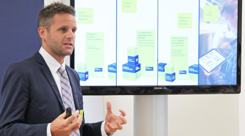 Im Bild: Dr. Martin Huber, er führt nun die Geschäfte von Multicom